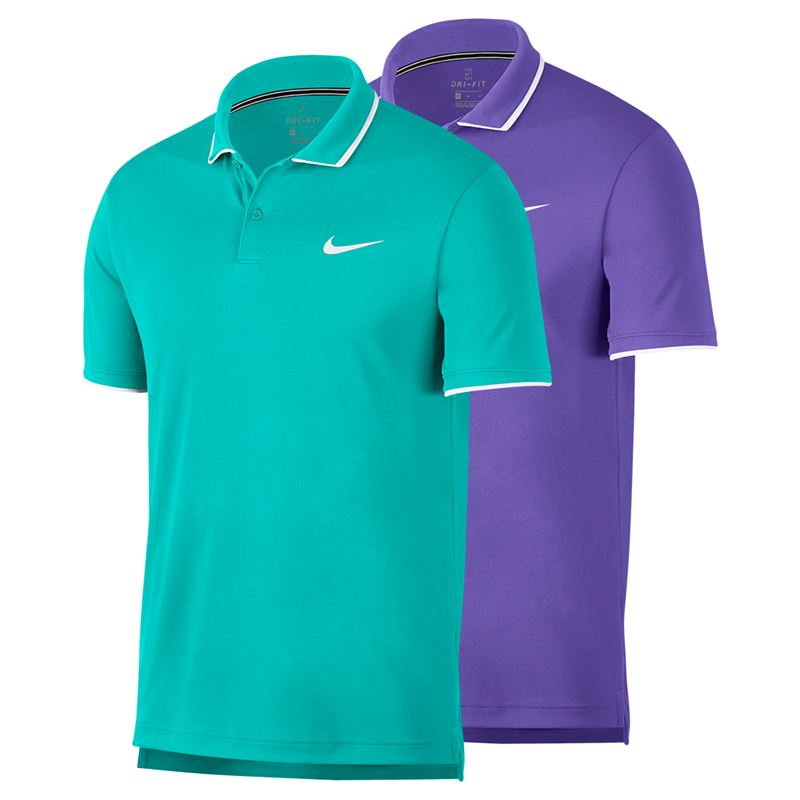 Nike Court Dry Team Polo, fa19_939137 | Men's Tennis Apparel