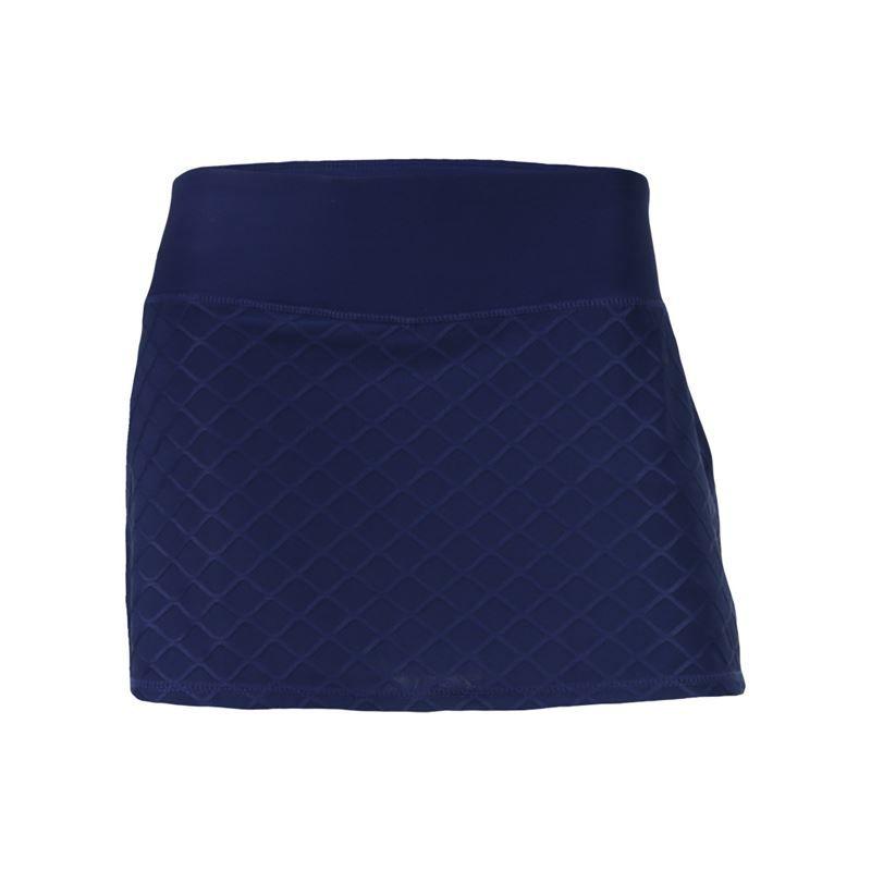 166a0b0f21 Head Diamond Jacquard Skirt - Medieval Blue. Zoom