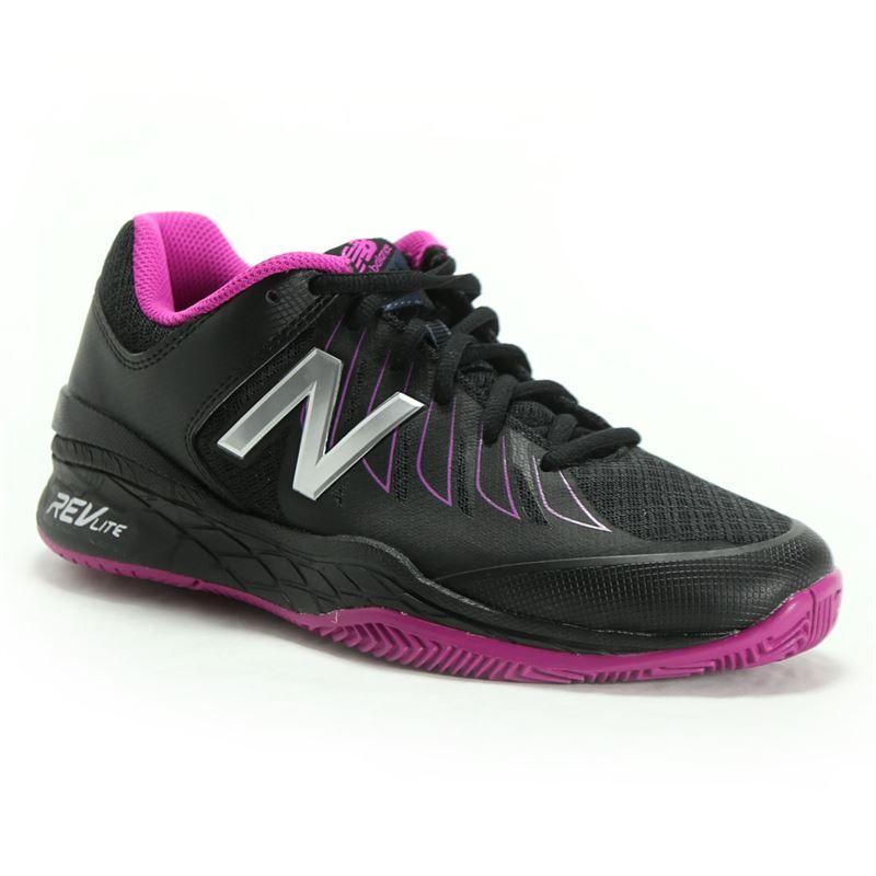 new balance wc1006wr d womens tennis shoe black purple