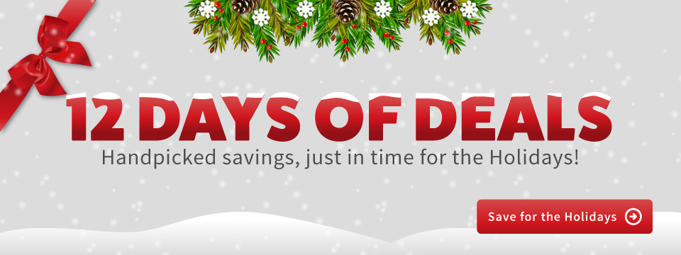 12 Days of Tennis Deals