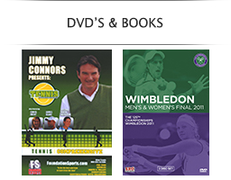 Tennis DVDs and Books