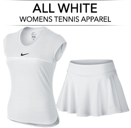 All White Tennis Apparel