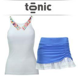 Tonic Womens Tennis Apparel