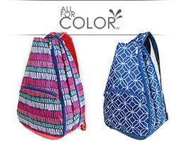 All For Color Tennis Bags