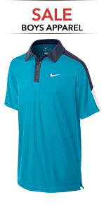 Boy's Sale Tennis Apparel