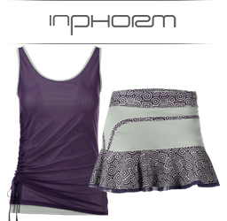 Inphorm Womens Tennis Apparel