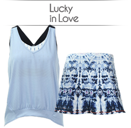 Lucky In Love Womens Apparel