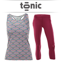 Tonic Womens Tennis Apparel