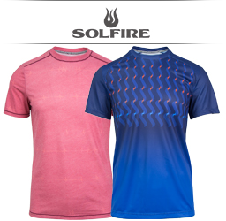 Solfire Men's Tennis Apparel