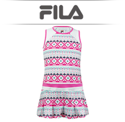 Girls Fila Tennis Apparel