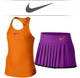 Girls Nike Tennis Apparel