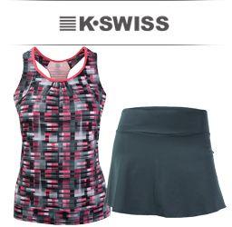 K-Swiss Womens Tennis Apparel