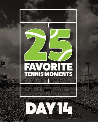 Day 14 25 Moments in Tennis