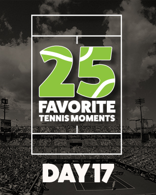 Day 17 25 Moments in Tennis