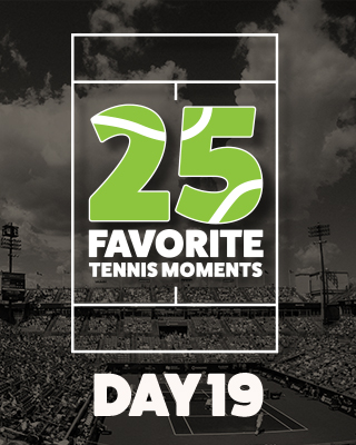 Day 19 25 Moments in Tennis