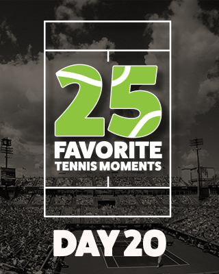 Day 20 25 Moments in Tennis