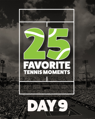 Day 9 25 Moments in Tennis