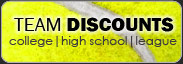 Shop for all your needs for your tennis team
