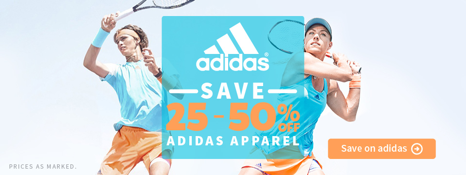 New Adidas Spring Tennis Apparel
