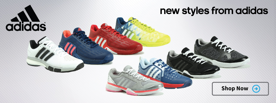 New Tennis Shoe Styles from Adidas