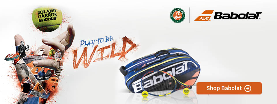 Babolat Roland Garros Racquets and Bags