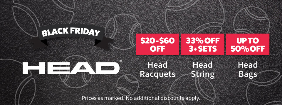 Head Black Friday Deals
