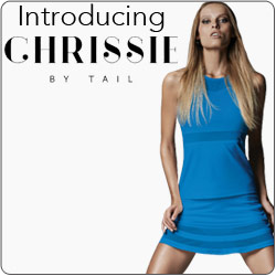 Shop Chrissie New Women's tennis apparel fall 14 line