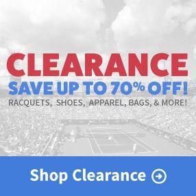 Clearance Tennis Gear