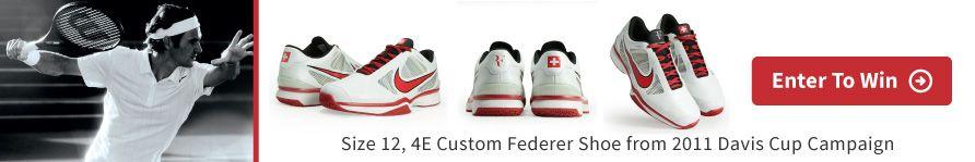 Federer Shoe GiveAway