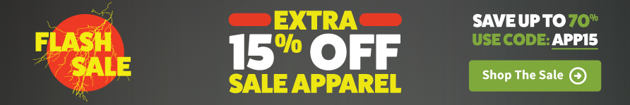 Extra 15% Off Sale Apparel