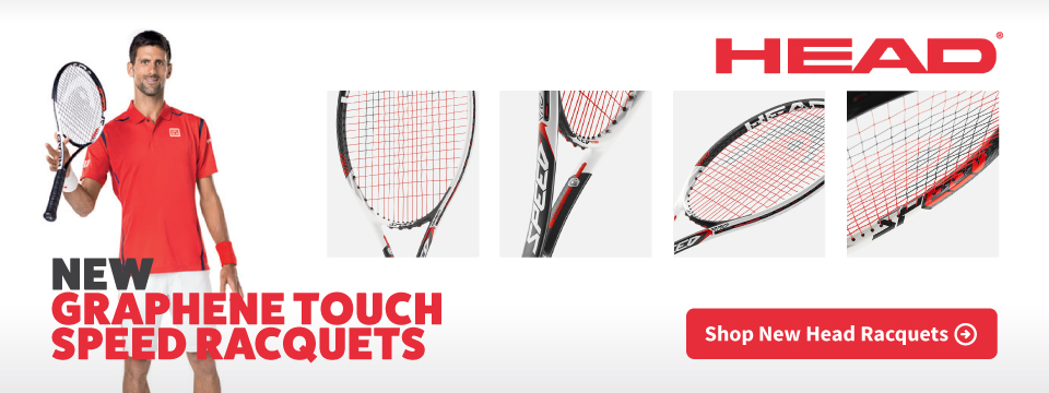 New Head Graphene Touch Speed Racquets