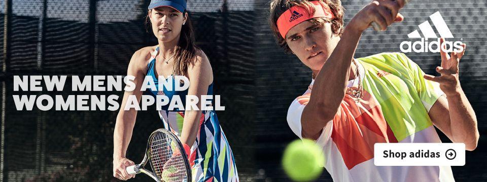 New Adidas Tennis Apparel