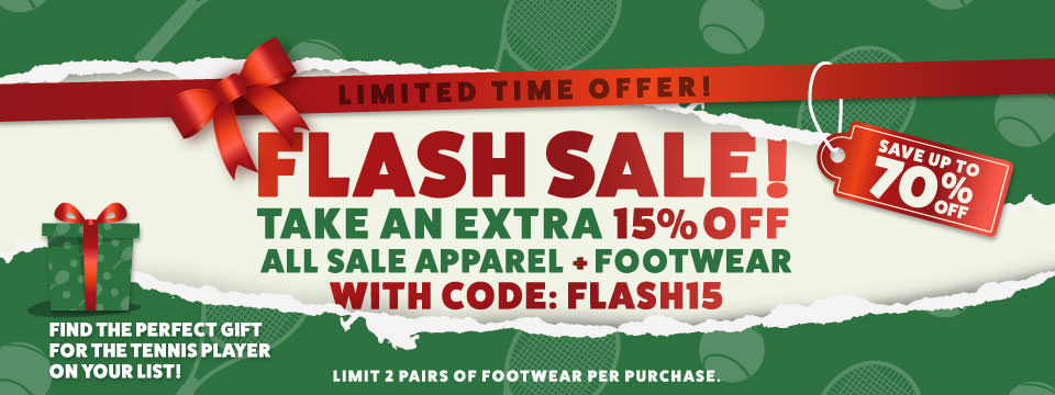 Extra 15% Off Sale Footwear and Apparel