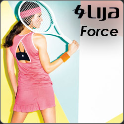 Shop Lija Force women's tennis apparel for Spring 2014