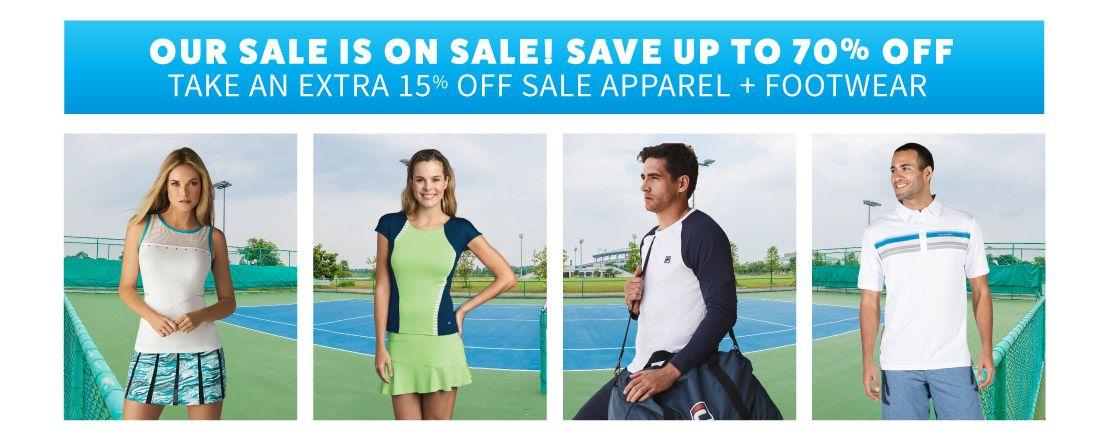 Sale Tennis Apparel