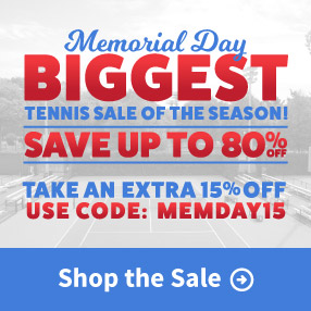 Save on 15% on All Sale Tennis Items