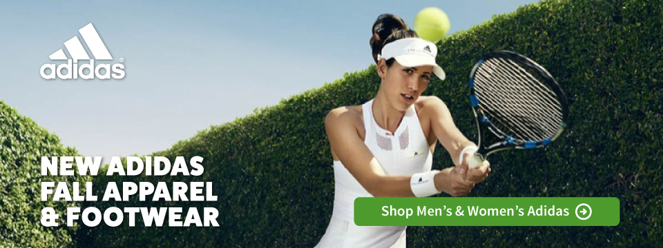 New Adidas Fall 2017 Tennis Apparel and Footwear