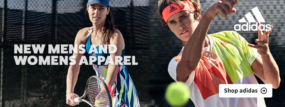 New Adidas Tennis Apparel