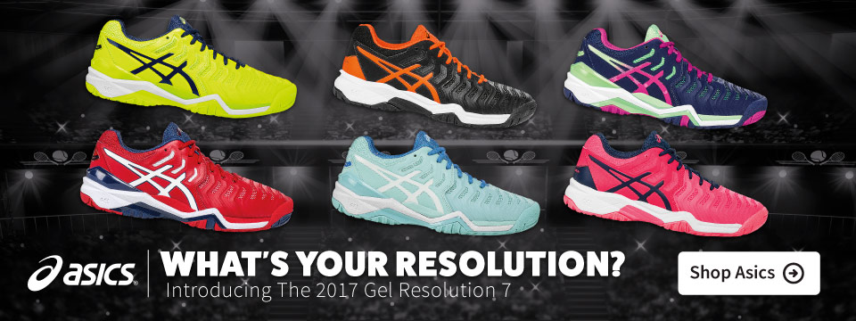 New Asics Resolution