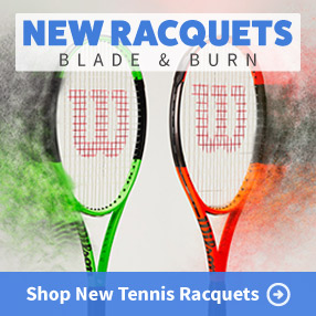 New Wilson Blade and Burn Tennis Racquets