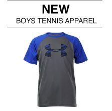 New Boy's Tennis Apparel