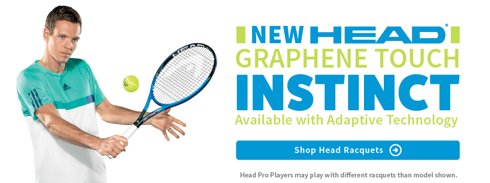 New Head Instinct Racquets