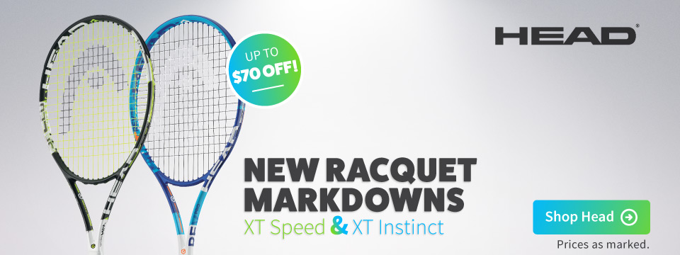 Save on Head tennis racquets