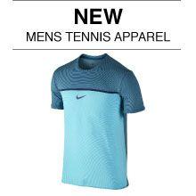 New Men's Tennis Apparel