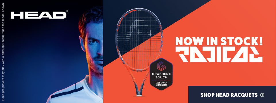 New Head Radical Tennis Racquets