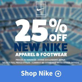 Nike Holiday 2017 Tennis Apparel and Footwear