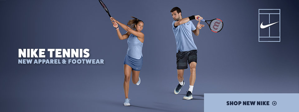 New Holiday 2017 Nike Tennis Apparel and Shoes