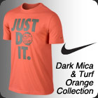 Nike Mens Spring 2014 Dark Mica/Orange