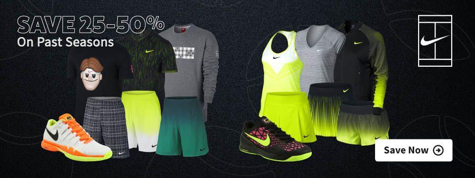 Nike Sale Tennis Apparel and Footwear