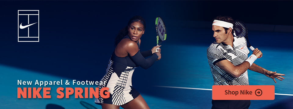 New Nike Spring Tennis Apparel and Shoes
